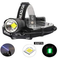 BESTSUN XHP70 LED Head Torch Rechargeable 10000 Lumens Headlamp Flashlight Light