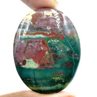 Cts. 63.20 Natural Bloodstone Cabochon Oval Exclusive Loose Gemstone