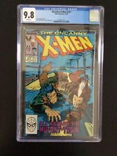 CGC 9.8 Uncanny X-Men 237 White Pages - Free Shipping