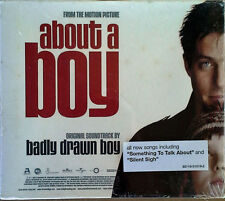 ABOUT A BOY - BADLY DRAWN BOY - CD SOUNDTRACK + SLIP COVER - STILL SEALED