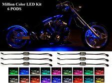 LED Motorcycle NEON All Color Custom Pod Lights Kit For Suzuki Hayabusa GSX-R