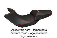Rivestimento sella nero-rosso Ducati Multistrada 1200 10>12 Stefano Basic logo