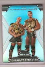 WWE 2010 PLATINUM TRADING CARD THE HART DYNASTY PP-16
