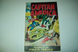 CAPITAN AMERICA N.63 10 SETTEMBRE 1975-PANICO IN PARK AVENUE-CORNO