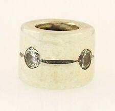 Genuine Pandora Sterling Silver Swarovski Crystal Charm