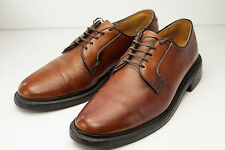 8.5 Brown Oxford Men's Dress Shoes w/ Luxis Sheep Skin Insoles