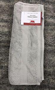 John Lewis guest towel Supima Cotton 40 x 60 - Grey