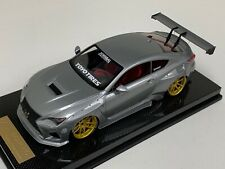 1/18 Toyota Lexus RC Pandem Liberty walk Silver Gold Wheels N BBR MR Carbon Base