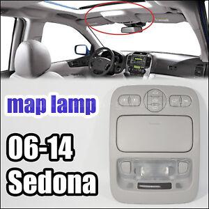 928214D100QW Over Head Console Lamp Map Sliding Doors Gray KIA Carnival 2006-14