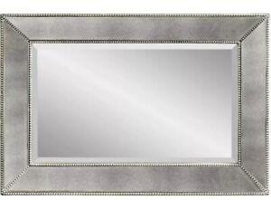New Bassett Beaded Wall Mirror M3341B Retails $299+