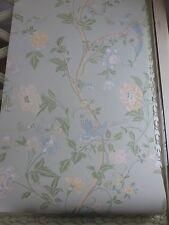 Summer Palace eau de nil wallpaper birds floral price per roll