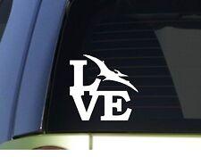 Pterodactyl Love  *H945* 6 inch Sticker decal t rex dinosaur fossils