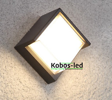 LED Außenlampe Wandlampe Wandleuchter 12W 720lm,Garten,Wandstrahler, kobos-led