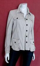 schöner Sommer Blazer Jacke MARC CAIN Größe 40 42 Luxus Baumwolle
