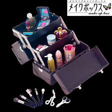 Rare! Re-ment Miniature Cosmetic Makeup Box - Black Color