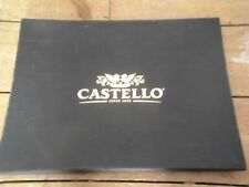 *Castello* Cheese Slate Board/ In Original Packaging. Brand New! + Writing Wax!