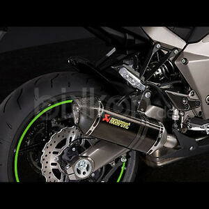 Akrapovic Exhaust Carbon for Kawasaki Z800 Year 2013 - 2015