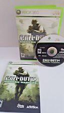 Call Of Duty 4 : Modern Warfare (Microsoft Xbox 360, 2007)