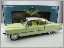 Cadillac FLEETWOOD  1955  in gelb-weiss  Greenlight  Maßstab 1:18  OVP  NEU