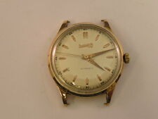 Vintage Eberhard Watch 18k Solid Rose Gold Automatic 1940's