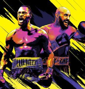 Fury Wilder 3 Boxing DVD