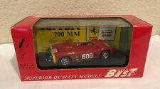 Model Best Ferrari 290 mm 1/43 Scale In Original Box #9069 Model Race Car