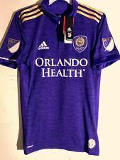 Adidas Authentic MLS Jersey Orlando City SC Team Purple sz S