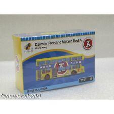 DAIMLER FLEETLINE METSEC RED A TINY MODEL 1/64 #ATC64340