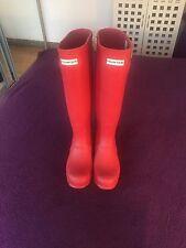 Hunter Original Kids Wellington Boots Rubber Rain Wellies Size 3 UK