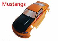 1/10 RC Painted Precut Drift Touring Racing Mustange GT Car Body Shell 190mm