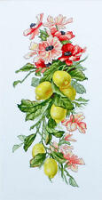 Counted Cross Stitch kit Luca-S Composition with Lemon #B210