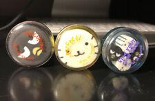Vintage Sanrio Badtz Maru Eraser & Case Collection 1999
