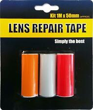 Front Or Rear Car Van Lens Light Indicator Repair Tape Easy Fit Stick On