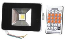 LED MIDI FLOODLIGHT MICROWAVE SENSOR 20W = 200W HALOGEN  LED and remote control