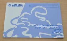 YAMAHA MT-07 MT07 MT07A Manual du Proprietaire Bedienungsanleitung Motor 2014