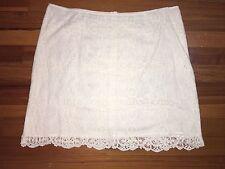 Garnet Hill Lace Skirt Size 14