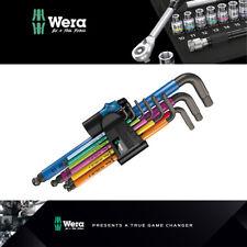Wera Tools Multicolour L-Key Set Metric Holding Function 950 SPKL/9 SM HF