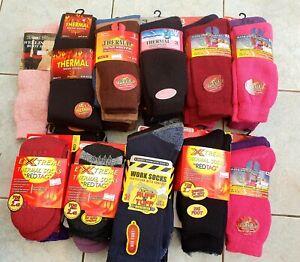 WHOLESALE JOBLOT 46 Pairs Thermal Mens/Womens socks, Work Socks, Boot Socks etc
