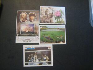Sierra Leone assorted s/s  stamped sheets lot of 35 MNH OG