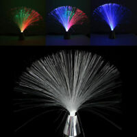 2018 Multi Color LED Changing Fiber Optic Lamp Star Wedding Holiday Decor Light
