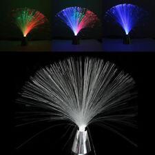 2018 Multi Color LED Changing Fiber Optic Lamp Star Wedding Holiday Decor Light