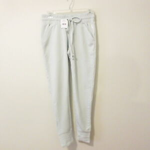 NWT $48 COMFY All Seasons Ice BLUE Stretchy SWEAT Pants FREE PEOPLE Size S