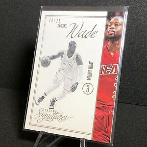 Dwayne Wade 2012-13 Panini Signature Stars /25