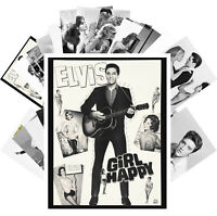 Postcards Pack [24 cards] Young Elvis Presley Rock n Roll Music Vintage CC1232