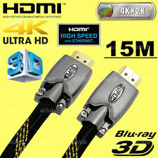 15m Ultra HD 4K x 2K HDMI Cable v2.0 Support 3D Ethernet Audio Return Channel