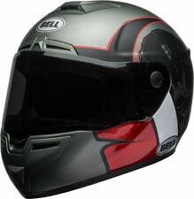 BELL CASCO INTEGRALE MOTO HELMET SRT HART LUCK CARBON BIANCO ROSSO TG. M 58 CM