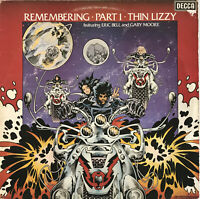 THIN LIZZY REMEMBERING PART 1 LP DECCA UK 1976 NEAR MINT PRO CLEANED