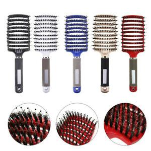 Hair brush Girls Hair Scalp Massage Comb Women Wet Curly Detangle Hairbrush 2021