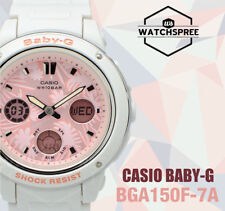 Casio Baby-G Flower Dial BGA-150 Series Watch BGA150F-7A AU FAST & FREE