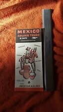 American Airlines brochure 1956/57 Mexican Golden Tours